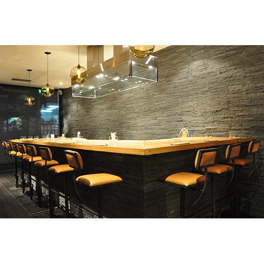 Gyoza Bar - Sièges de bar Jet Totem design Cyrille Varet