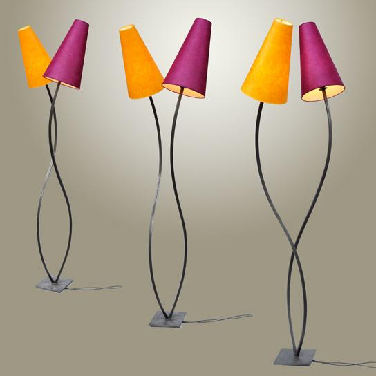 Lampadaire double Cyrillle Varet - 534€