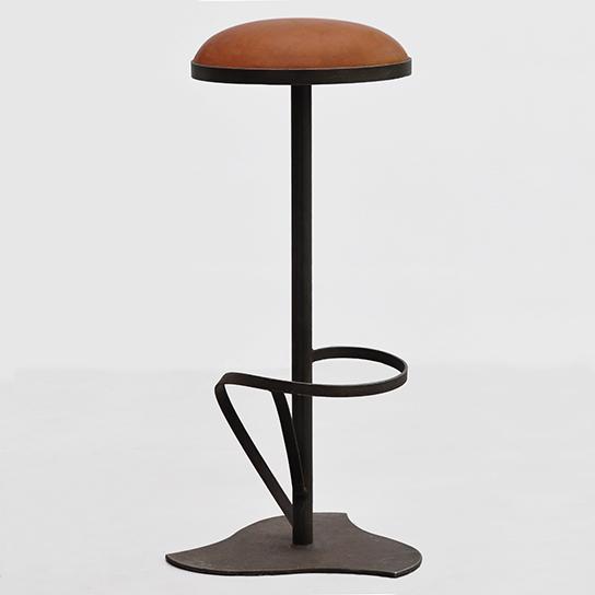 Tabouret de bar Orphea Tourbillon- Design Cyrille Varet